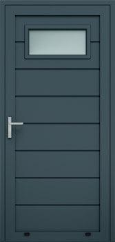 panelowe przetloczenie wysokie przeszklenie A1 7016 - Drzwi boczne - Wiśniowski