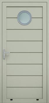 panelowe przetloczenie wysokie przeszklenie O 7032 - Drzwi boczne - Wiśniowski